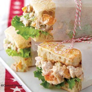 Gooseberry Patch Apricot-Cashew Salad Sandwich Recipe