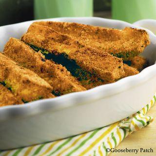 Parmesan Zucchini Sticks recipe - Dinner & Dessert for Two - Gooseberry Patch