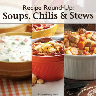 Gooseberry Patch Soups, Chilis & Stews Recipe Round-Up