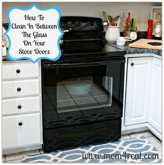 Top to bottom kitchen cleaning | Spring cleaning ideas from Mom4real.com, featured on Gooseberry Patch