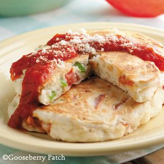 Gooseberry Patch Savory Pancakes Recipe