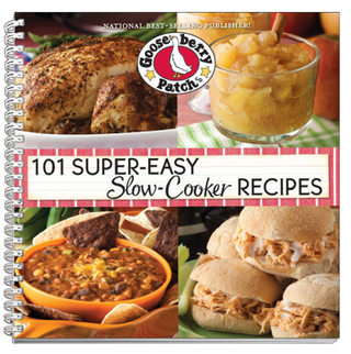 Gooseberry Patch $2.99 eBook: 101 Super Easy Slow Cooker Recipes