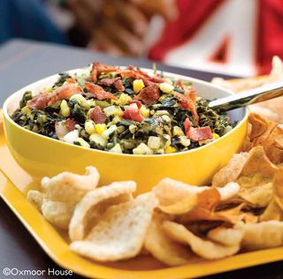 Summer's Best Salsa Recipes: Bacon and Greens Salsa from Gooseberry Patch