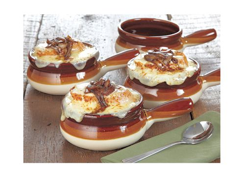 CHEFS French Onion Soup Bowls from Gooseberry Patch