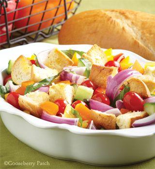 Panzenella Salad recipe - Dinner & Dessert for Two - Gooseberry Patch