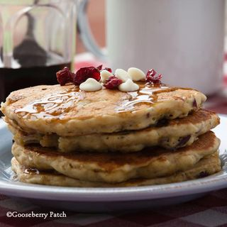 Cranberry Hootycreek Pancakes recipe from 101 Breakfast & Brunch Recipes - full-size cookbook is only $2.99 this week!