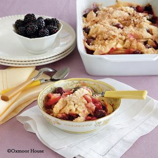 Gooseberry Patch Blackberry-Apple Crunch Recipe
