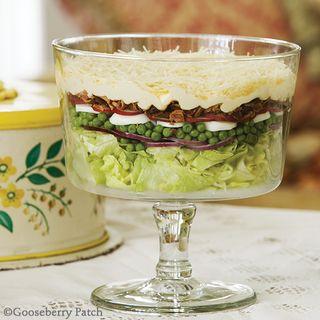 Gooseberry Patch Overnight Layered Salad Recipe