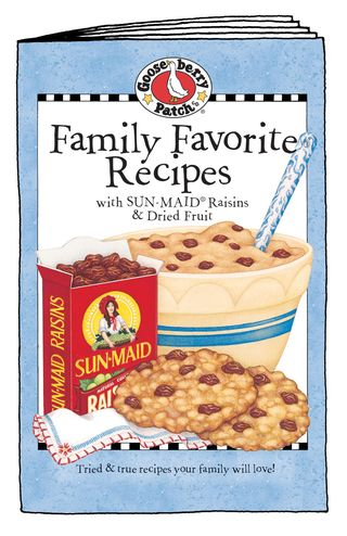 Family Favorite Recipes with Sun-Maid Raisins & Dried Fruit - just 99 cents!