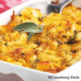 Gooseberry Patch Cheddar Potato Gratin Recipe