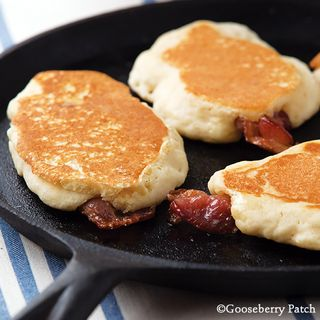 Gooseberry Patch Bacon Griddle Cakes Recipe