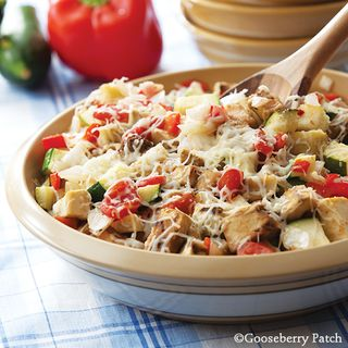 Gooseberry Patch Easy Cheesy Ratatouille Recipe