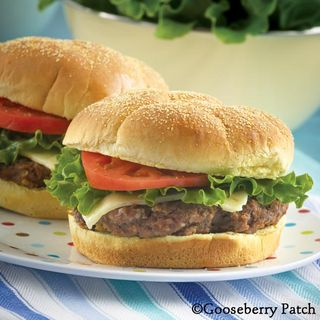 Gooseberry Patch Backyard Big South-of-the-Border Burgers Recipe