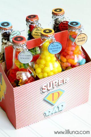 Super Dad Pop Box Treat Set from Lil Luna