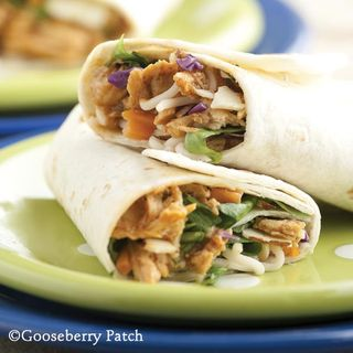 Back to School Suppers: Asian Chicken Wraps from Gooseberry Patch