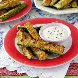 Gooseberry Patch Parmesan Zucchini Sticks Recipe