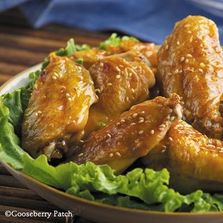 Gooseberry Patch Honey Sesame Wings Recipe