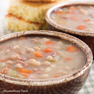 Gooseberry Patch Ham & Bean Soup Recipe