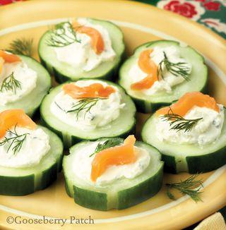 Gooseberry Patch Cucumber Bites Recipe