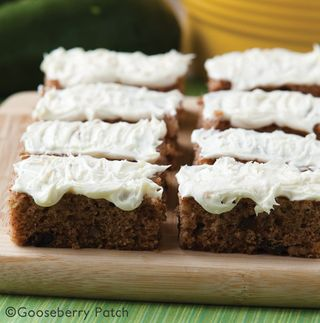 Spiced Zucchini Bars | Top 10 Freezer Friendly Make Ahead Recipes from Gooseberry Patch