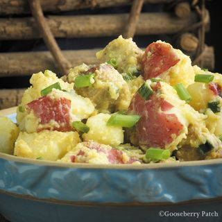 Gooseberry Patch Bratwurst & Potato Salad Recipe