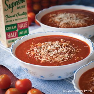 Gooseberry Patch Sunday Meeting Tomato Soup Recipe