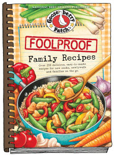 Gooseberry Patch Foolproof Family Recipes Cookbook
