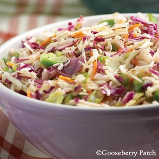 Gooseberry Patch Tangy Summer Slaw Recipe