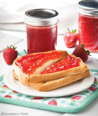 Gooseberry Patch Strawberry-Thyme Jam Recipe