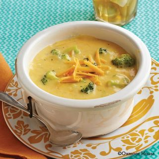 Gooseberry Patch Broccoli-Cheddar Soup Recipe
