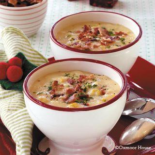 Gooseberry Patch Potato-Corn Chowder Recipe