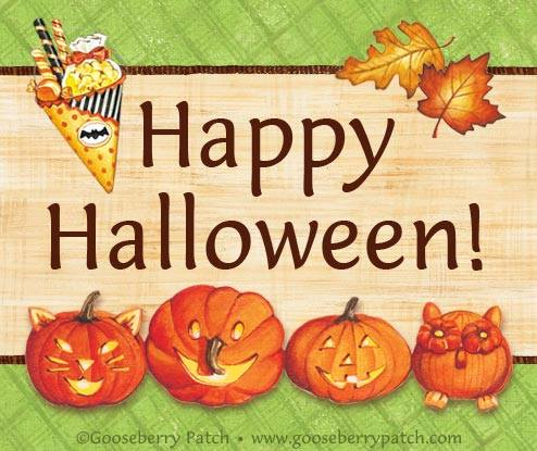 Happy Halloween from Gooseberry Patch!