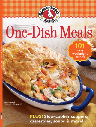 Gooseberry Patch One-Dish Meals - sold wherever you find your favorite magazines!