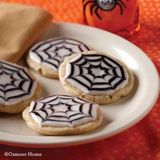 SpookieSpiderwebCookies