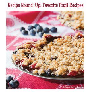 Recipe Round-Up: Favorite Fruit Recipes