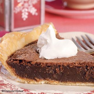 Chocolate Chess Pie | Recipe from Gooseberry Patch