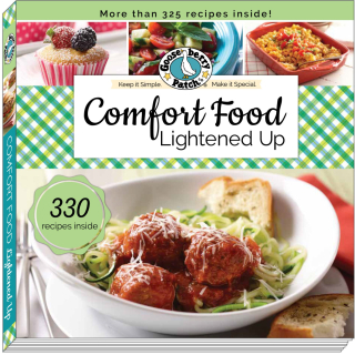 Comfort Foods Lightened Up from Gooseberry Patch | Just $1.99 this week!