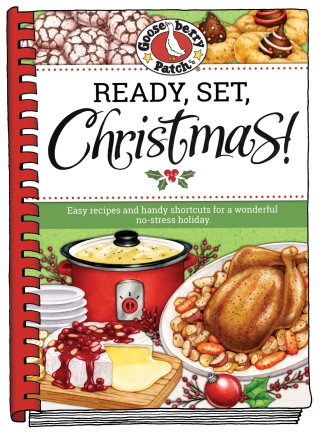 Ready, Set, Christmas cookbook from Gooseberry Patch | Just $2.99 this week!