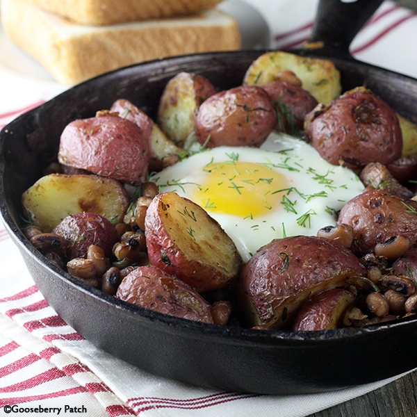6 Cast Iron Skillet Recipes: Black-Eyed Peas & Potato ...
