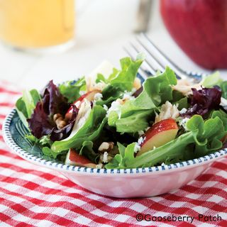 Gooseberry Patch Apple-Walnut Chicken Salad Recipe