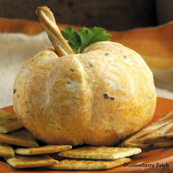 Pumpkin Patch Cheese Ball from 101 Autumn Recipes, just $1.99 this week!