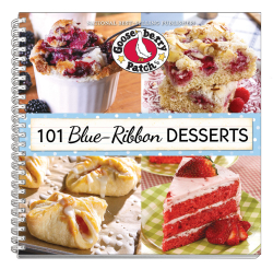 101 Blue-Ribbon Desserts, a cookbook from Gooseberry Patch