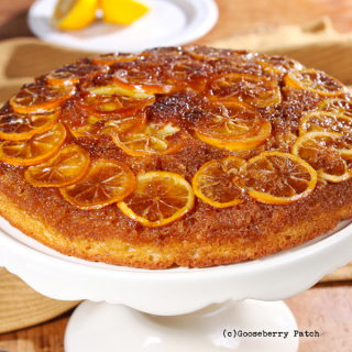Lemon Upside-Down Cake | 150 Best-Ever Cast Iron Skillet Recipes from Gooseberry Patch