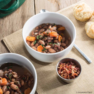 Down-Home Soup Beans from Soups, Stews & Breads, a $3.99 cookbook from Gooseberry Patch