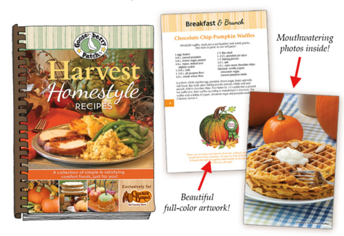 Harvest Homestyle Recipes, exclusively at Cracker Barrel Country Store