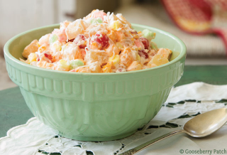 Sweet Ambrosia Salad from 101 Homestyle Favorites | Gooseberry Patch