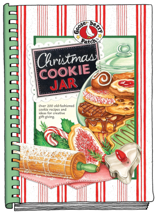 Christmas Cookie Jar from Gooseberry Patch | Just $1.99 this week!