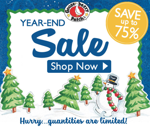 Shop our year-end sale NOW thru 1/2/18!