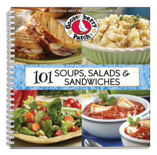 101 Soups, Salads and Sandwiches from Gooseberry Patch | Just $1.99 this week!