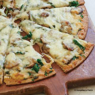 BasiMushroomPizza